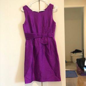 Kate Spade Purple Bow Dress